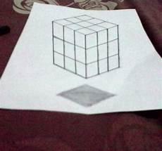 Raffaanzzhra Tutorial Menggambar Rubik 3d Dengan Mudah