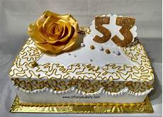 double layer sheet cake with big rose quarter sheet s bakery