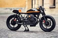 Moto Guzzi V65 Cafe Racer By Ventus Garage Bikebound