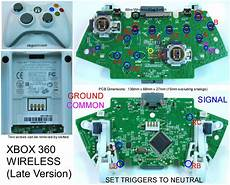 xbox 360 circuit board wiring diagram image