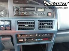 How To Toyota Corolla Stereo Wiring Diagram