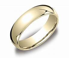 comfort fit men s 14k gold wedding band elegant rings