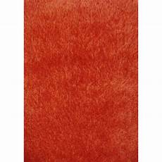 tapis orange ikea tapis orange shaggy lilou l 120 x l 170 cm leroy merlin