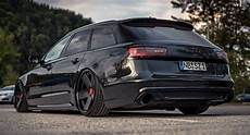 black on special tuned audi a6 avant s line