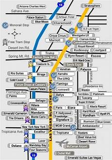 map of las vegas strip hotels and surrounding areas las