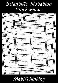 decimals worksheets for highschool students 7163 scientific notation math no prep review practice worksheets pre algebra scientific notation