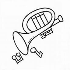 Malvorlagen Trompete Ausmalbilder Malvorlagen Trompete Kostenlos Zum