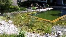 Schwimmteich Selber Anlegen - schwimmteich selber bauen teil 2