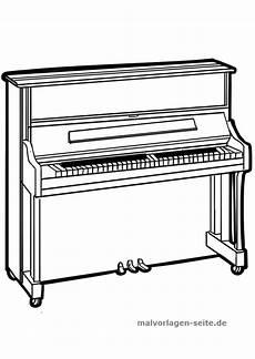 Gratis Malvorlagen Klavier Malvorlage Klavier Instrumente Selber Bauen Malvorlagen