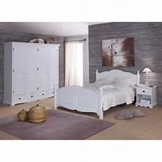 chambre meuble blanc beaux meubles pas chers