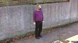 Horse Head Mask Squirrel Feeder Will Haunt Your Dreams