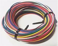 automotive wire ga high temp gxl wire ten 10 colors 25 ea u s a ebay