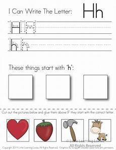 worksheets letter h 22995 pin on preschool letter of the week
