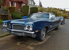 Seattles Parked Cars 1970 Oldsmobile 98 Convertible