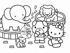 Zootiere Malvorlagen Zoo Animal Coloring Pages Coloring Home
