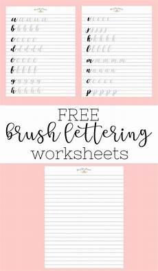 handwriting worksheets calligraphy 21329 brush lettering and beyond lettering worksheets and practice routine lettering tutorial