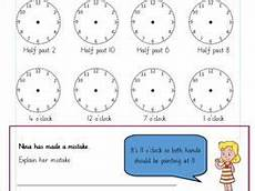 time worksheets differentiated 2965 o clock and half past times differentiated worksheets year 1 white teaching resources
