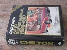 car service manuals pdf 1987 ford exp auto manual 1980 1987 chilton s auto repair manual amc dodge chevy ford chrysler b shanon s engineering inc