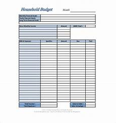 personal budget template 13 free word excel pdf documents download free premium templates