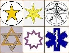 Sterne Bedeutung - symbols