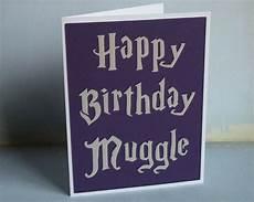 happy birthday muggle harry potter inspired by craftingtiger