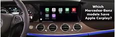 apple carplay mercedes which mercedes models apple carplay