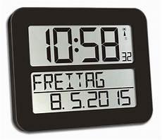 funkwanduhr timeline max tfa 60 4512 funk wanduhren
