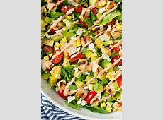 ranch chicken chopped salad_image