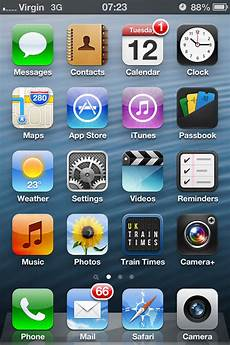 Iphone 6 Home Screen Wallpaper by Ios6 Wallpaper Doubles As A Live Wallpaper Iphone