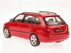 skoda fabia ii combi rot modellauto welly 1 24 ebay