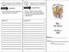 ah music comprehension skills worksheet for 2nd 3rd