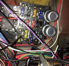 Painles Wiring Harnes Diagram Horn by In Our Garage Installing A New Wiring Harness Hemmings