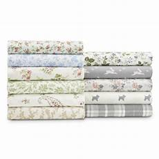 The 8 Best Flannel Sheets Audrey Floral 100 Cotton Flannel Sheet Set By Laura