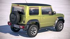 suzuki jimny 2018 3d model cgstudio