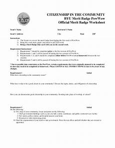 citizenship the community byu worksheet fill online printable fillable blank pdffiller