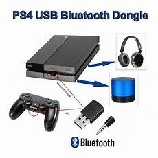 New Wireless Mini Bluetooth Dongle Usb Adapter For Ps4 Any