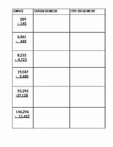 front end estimation addition worksheets 8172 estimation practice rounding and front end estimation by shortt