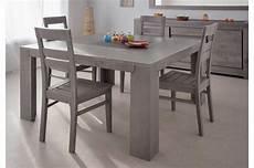 Table De Repas En Bois Carr 233 E Ch 234 Ne Gris Trendymobilier