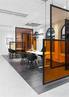 separation de bureau en verre le mobilier de bureau contemporain 59 photos inspirantes