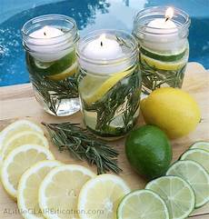 produzione candele diy summer jar luminaries summer in jars a