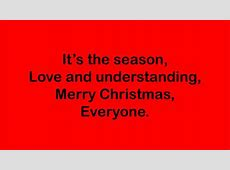 merry christmas everyone mp3