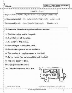sentences worksheets from the teacher s guide