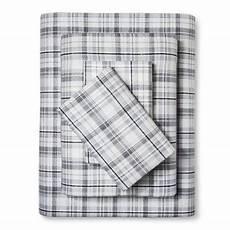 beacon hill flannel sheet queen grey eddie bauer 174 target