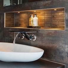 Astro Terra 28 Brushed Stainless Steel Bathroom Led