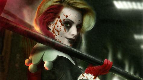 Bloody Harley Quinn