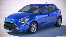toyota models 2020 2 3d model toyota yaris hatchback us 2020 cgtrader