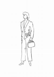 Topmodel Ausmalbilder Mann Ausmalbilder Model Im Business Anzug Models Malvorlagen