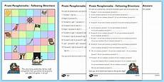 directions worksheets ks1 11570 following directions left right clockwise anticlockwise following