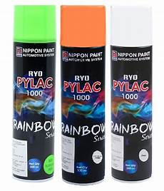nippon paint combo rs spray paint 900ml 1pc fluorescent green 1pc fluorescent orange and 1pc