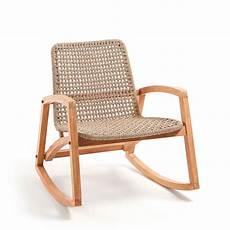 cimada rocking chair de jardin en bois drawer